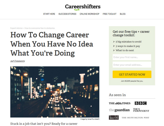 career-shifters