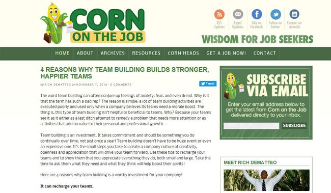 corn-on-the-job